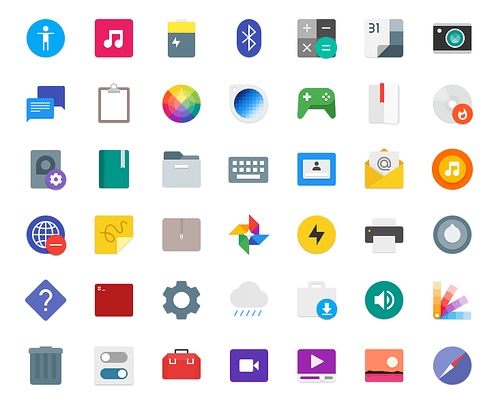 paper icones