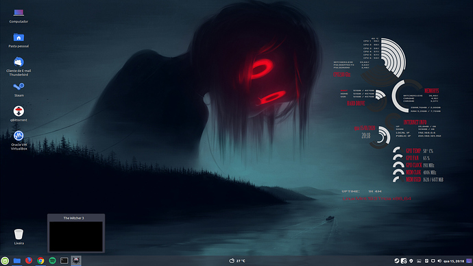 Desktop Linux Mint