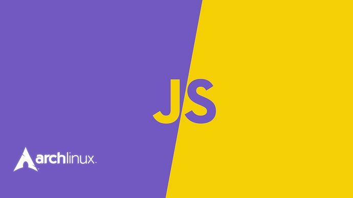 archlinux_javascript%20wallpaper%20purple%20and%20yellow%20JS