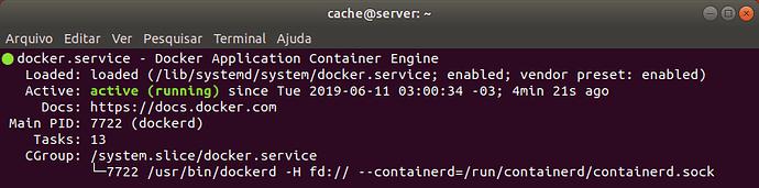 ServidorCache01ExecutandoDocker
