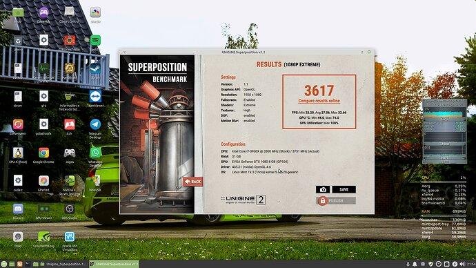 unigine superposition extreme