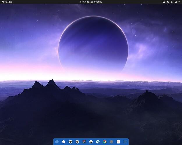 Ubuntu com GNOME Desktop