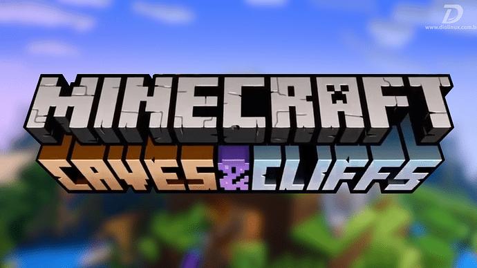 MinecraftTeraUpdateCavesCliffsNaVersao117