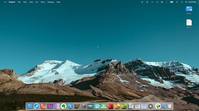 openSUSE Tumbleweed com KDE Plasma