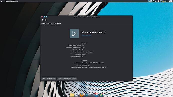 049 nitrux agorausa base Debian