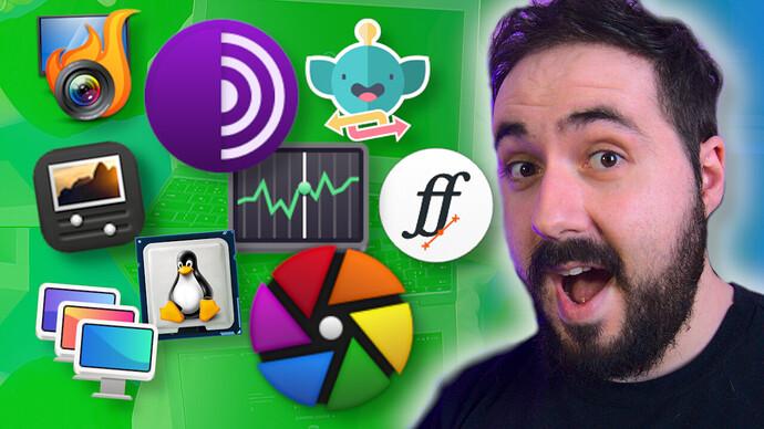 melhores aplicativos para linux