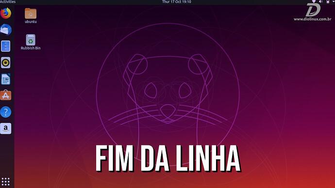 Ubuntu1910FimDaLinha