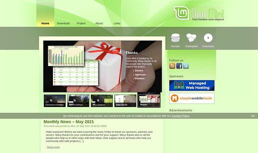 Screenshot 2021-06-11 at 00-02-14 Main Page - Linux Mint