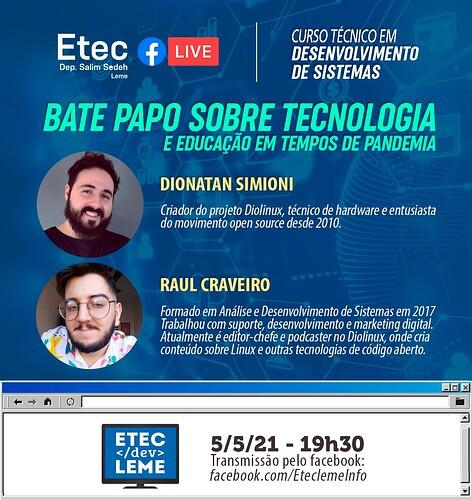 banner divulgação Etec