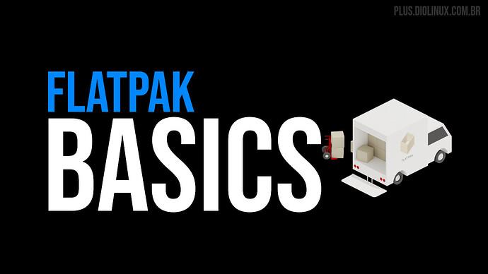 como gerenciar pacotes flatpak