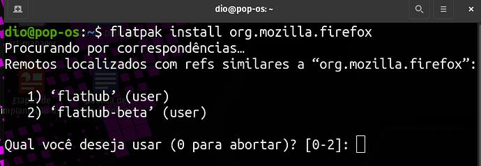 instalando flatpaks de multiplos repositórios