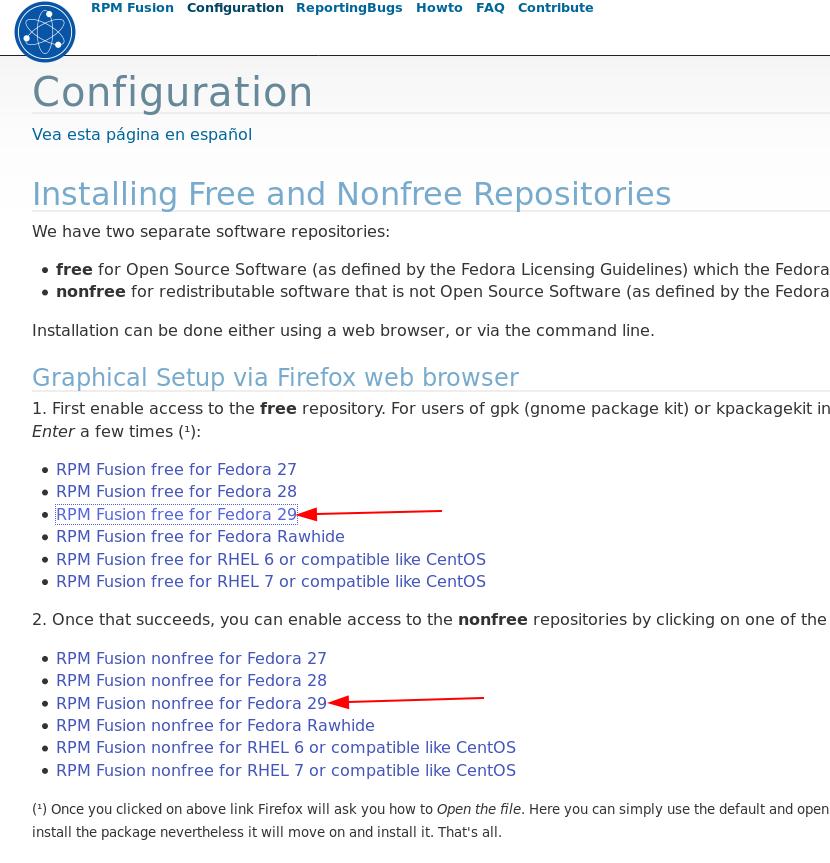Pós Instalação no Fedora com RPMFusion/Flatpak/Snap - Dicas