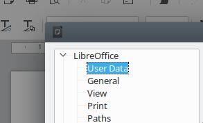 Seleção de 'User Data'