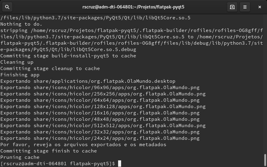 flatpak-log-terminal