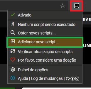 add script